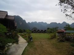 Falaises de Calcaire Vang Vieng