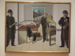 L'assasin menacé, Magritte, 1927