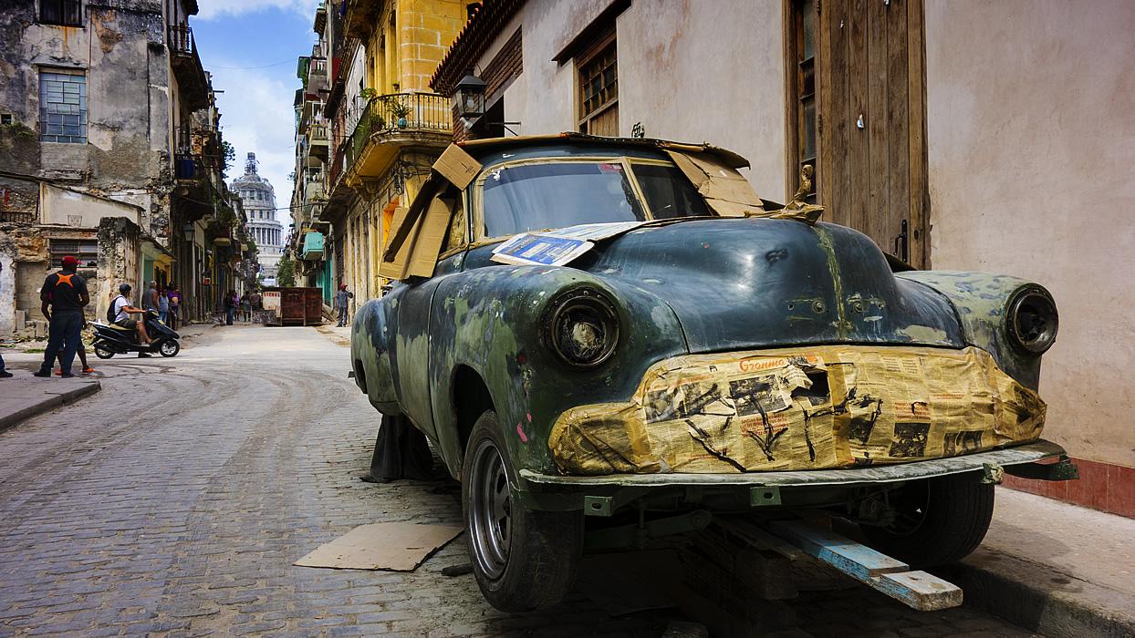 Voyage à Cuba avec des amis