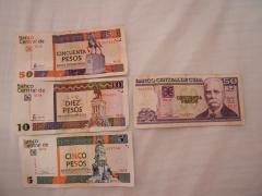 Pesos Cubano