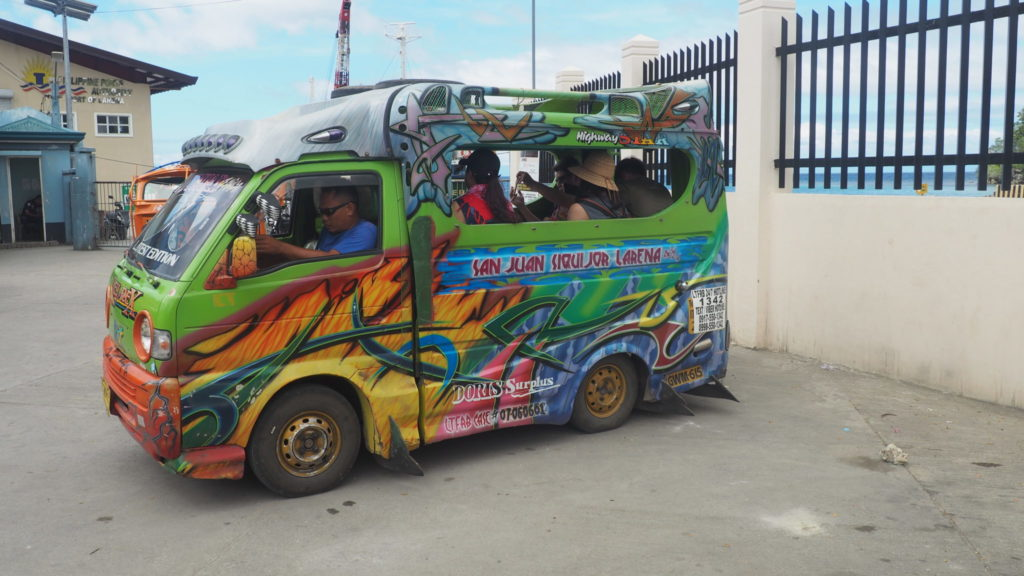 Transport entre Larena et San Juan (Siquijor)